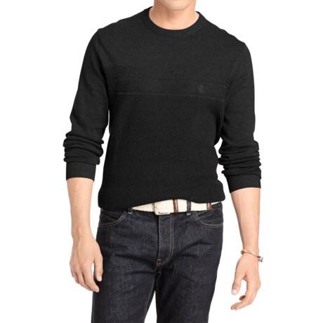 IZOD Fine-Gauge Textured Cotton Sweater (For Men)