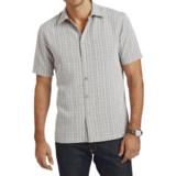 Hickey Freeman Van Heusen Plaid Shirt - Short Sleeve (For Men)
