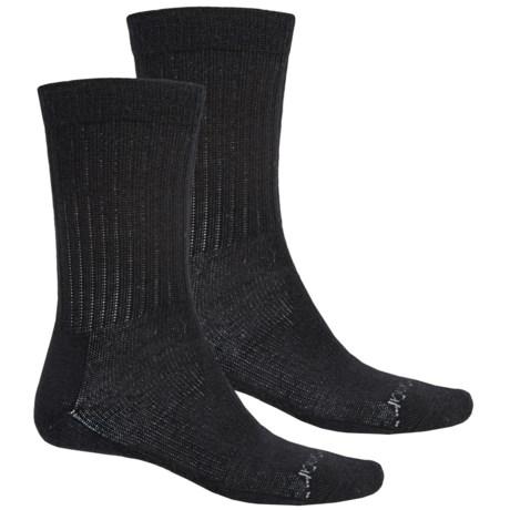 Terramar Everyday Merino Crew Socks - 2-Pack, Merino Wool (For Men)