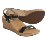 Vionic with Orthaheel Technology Enisa Wedge Sandals - Leather (For Women)