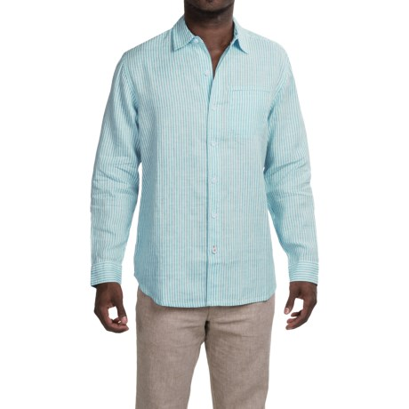 Tommy Bahama Paloma Beach Breezer Linen Shirt - Long Sleeve (For Men and Big Men)