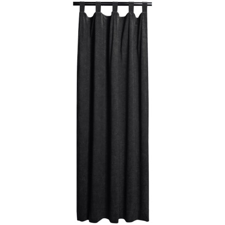 "Habitat by Commonwealth Home Fashions Faux-Suede Sundance Curtain Panel Pairs - 106x84"", Tab-Top"