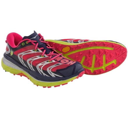 Hoka One One Speedgoat Trail Running Shoes (For Women) in Astral Aura/Neon Pink - Closeouts