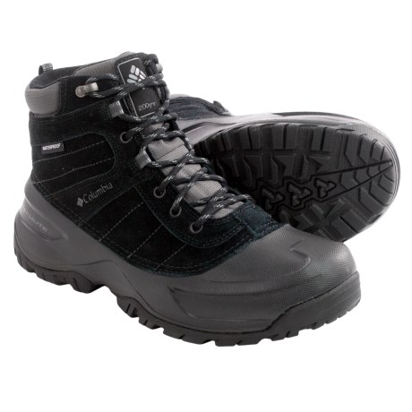 Columbia Sportswear Snowblade Snow Boots - Waterproof, Insulated (For Men)