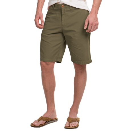 Tommy BahamaDel Chino Shorts - Pima Cotton, Flat Front (For Men)