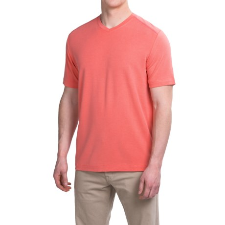 Tommy Bahama New Pebble Shore T-Shirt - V-Neck, Short Sleeve (For Men and Big Men)