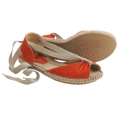 lisa b. Espadrille Sandals - Suede (For Women)