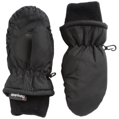Igloos Jacob Ash  Taslon Ski Mittens - Waterproof, Insulated (For Toddlers)