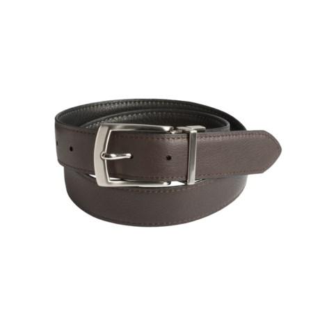 Will Leather Goods Reversible Italian Leather Belt (For Men)
