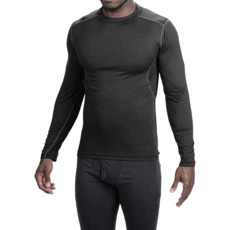 Terramar TXO 1.0 Crew Base Layer Top - UPF 50+, Long Sleeve (For Men)