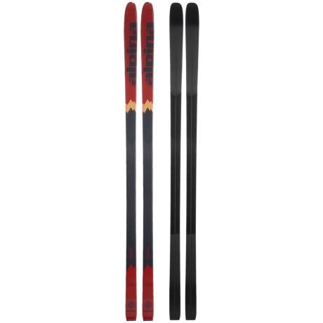 Alpina BC Touring Skis - Review of Alpina Discovery 80 Backcountry ...