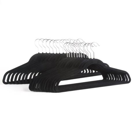 Great American Hanger Co. Velvet Slimline Hangers - 25-Pack