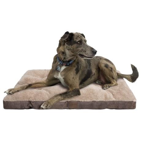 """AKC Burlap Dog Crate Mat - Large, 36x23"""""""