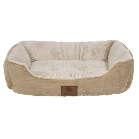 """AKC Spring Mason Cuddler Dog Bed - 28x20"""""""