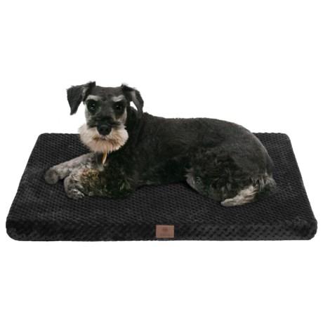 """AKC Pixel Memory-Foam Dog Mat - Large, 30x22"""""""