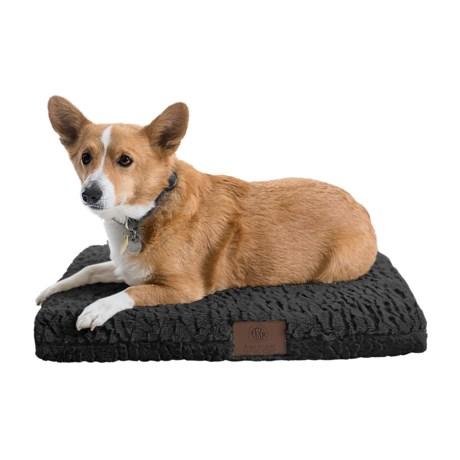 "AKC Deluxe Orthopedic Dog Crate Mat - Medium, 24x19"""