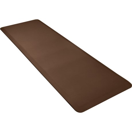 WellnessMats Original Smooth Anti-Fatigue Kitchen Mat - 6' x 2' x 3/4""