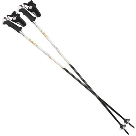 LEKI Flair S Fixed Length Ski Poles (For Women)