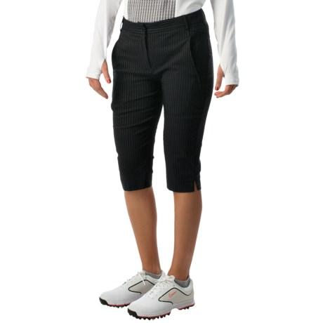 Bette & Court High Side Pinstripe Shorts (For Women)