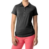 Bette & Court Swing Polo Shirt - UPF 30+, Short Sleeve (For Women)