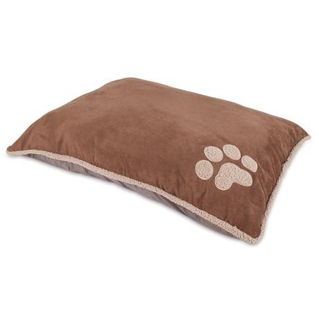 "Aspen Pet Shearling Knife-Edge Pillow Dog Bed - 36x45"""