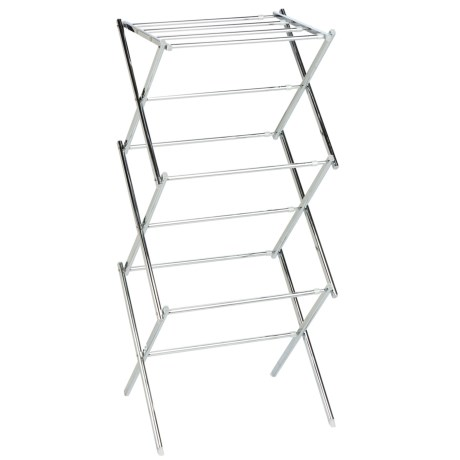 Honey Can Do Chrome Expandable Drying Rack