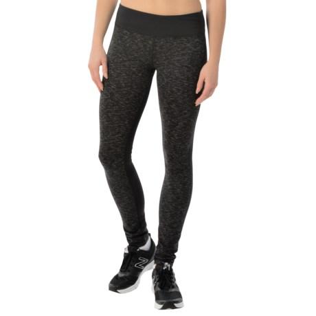 Head Space-Dye Color-Block Leggings (For Women)