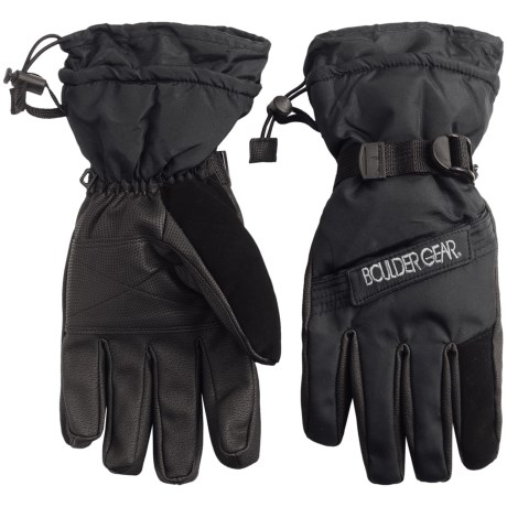 Boulder Gear Board Gloves - Waterproof, Insulated (For Men)