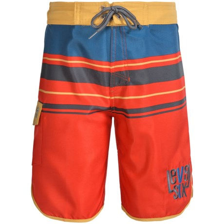 Level Six Amped Boardshorts (For Big Boys)