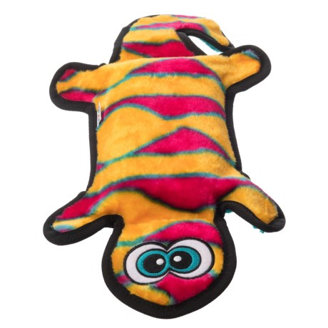 Outward Hound Invincibles Gecko Dog Toy - 2-Squeaker