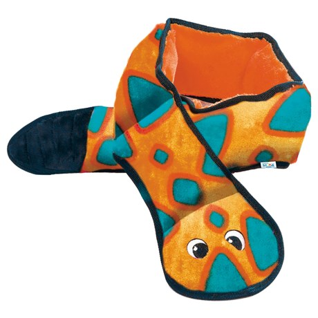 Outward Hound Invincibles Snake Dog Toy - 6-Squeaker