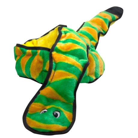 Outward Hound Invincibles Snake Dog Toy - Ginormous