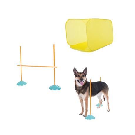 Outward Hound Zip-Zoom Indoor Dog Agility Kit