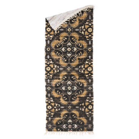 "Loloi Aria Flat-Weave Cotton Floor Runner - 1'9""x5'"