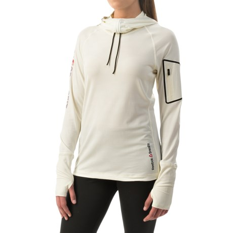 Reebok CrossFit® Cordura® Jacquard Hoodie - Slim Fit (For Women)