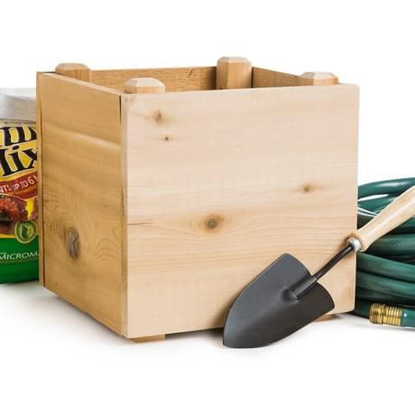 "Farmer D Eco Mini-Cube Planter - 12x12"""