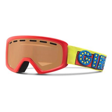 Giro Rev Basic Ski Goggles (For Little and Big Kids)
