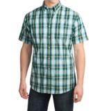 Pendleton Fremont Cotton Shirt - Button Front, Short Sleeve (For Men)