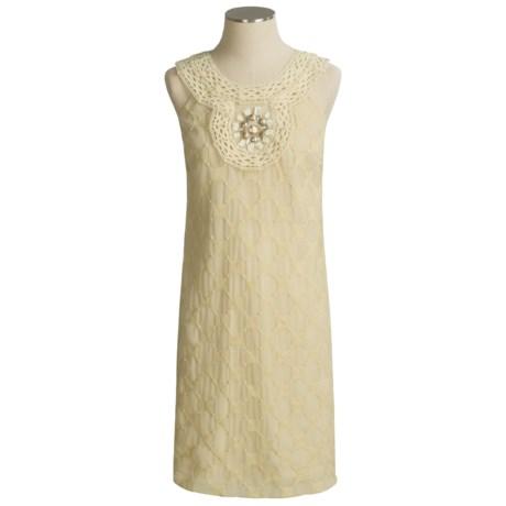 Muse Crochet Medallion Dress - Sleeveless (For Women)