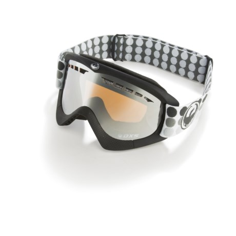 Dragon Alliance DXS Goggles with Ionized Lens