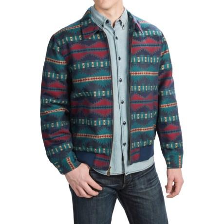 Pendleton Cotton Jacquard Coat - Full Zip (For Men)