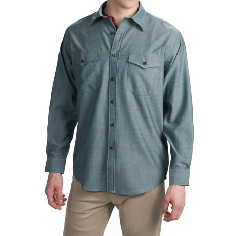 Pendleton Blaine Button-Front Shirt - Virgin Wool, Long Sleeve (For Men)