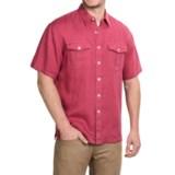 Pendleton Morrison Linen Shirt - Short Sleeve (For Men)