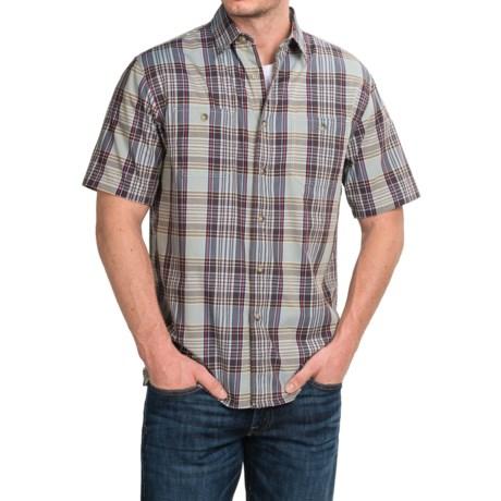 Pendleton Santiam Plaid Shirt - Short Sleeve (For Men)