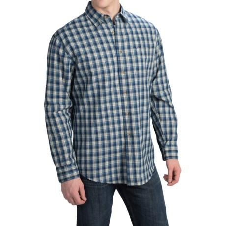 Pendleton Fitted Tennyson Plaid Shirt - Long Sleeve (For Men)