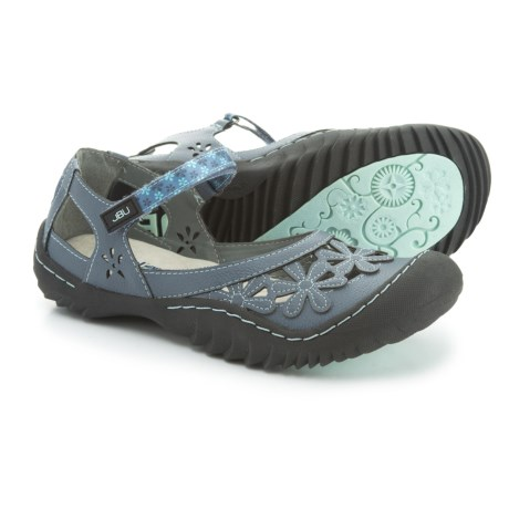Jambu JBU Wildflower Mary Jane Shoes - Vegan Leather (For Women)