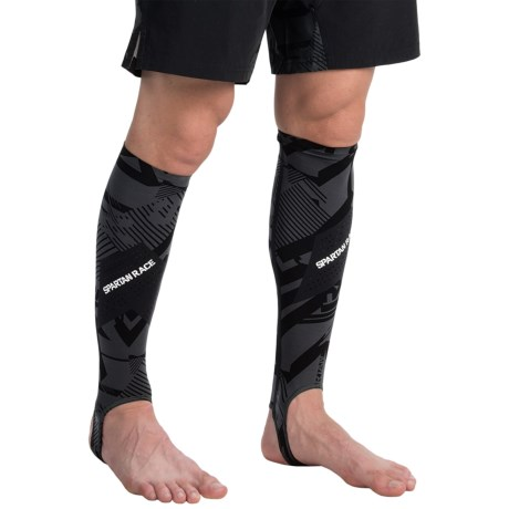 Reebok Spartan High-Performance Compression Calf Sleeves (For Men)