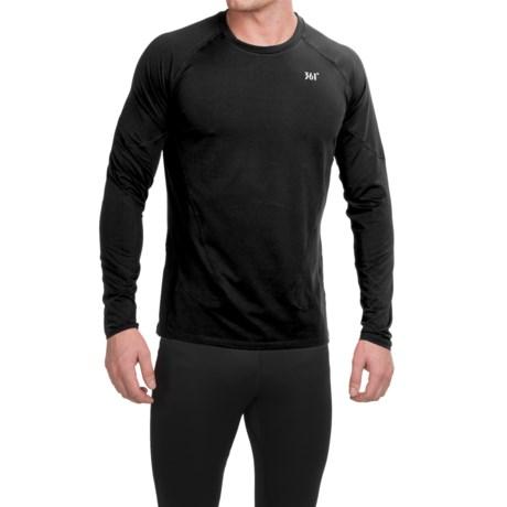 361 Degrees Midweight Crew Neck Shirt - Long Sleeve (For Men)