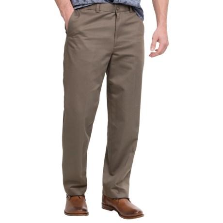 Flat-Front Pants - Straight Leg (For Men)
