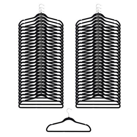 neatfreak! Non-Slip Felt Clothes Hangers - 50-Pack Box